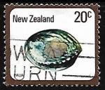 sellos de Oceania - Nueva Zelanda -  Paua (Haliotis iris)