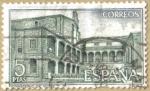 Stamps Spain -  Monasterio de Yuste - Claustro de Novicios