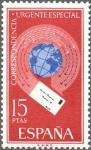 Sellos de Europa - España -  ESPAÑA 1971 2042 Sello Nuevo Alegoria Correspondencia Urgente Especial