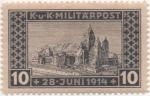sellos de Europa - Bosnia Herzegovina -  Y & T Nº 117