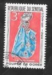 Stamps : Africa : Senegal :  268 - Muñeca de Gorée