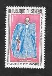 Stamps : Africa : Senegal :  266 - Muñeca de Gorée