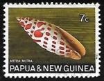 Sellos del Mundo : Oceania : Papúa_Nueva_Guinea : Mitra mitra