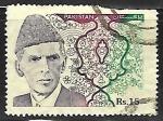 Sellos de Asia - Pakistán -  Mohammad Ali Jinnah