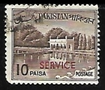 Stamps Oceania - Palau -  Shalimar Gardens