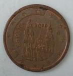 monedas de Europa - España -  2000 anverso