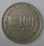 monedas de America - Venezuela -  2001 reverso