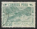 Sellos de America - Perú -  Cultivo del maiz