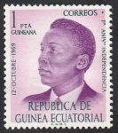 Stamps : Africa : Equatorial_Guinea :  Presidente Macías