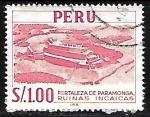 Sellos de America - Perú -  Ruinas Incaicas