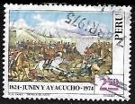 Stamps Peru -  Batallas de Junin y Ayacucho