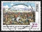 Sellos de America - Perú -  Batallas de Junin y Ayacucho
