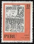 Sellos de America - Perú -  Calendario Maya