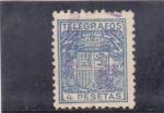 Stamps Spain -  TELEGRAFOS (30)