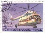 Sellos de Europa - Rusia -  HELICOPTERO