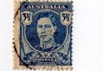 Sellos del Mundo : Asia : Australia : Busto