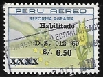 Sellos de America - Perú -  Reforma agraria