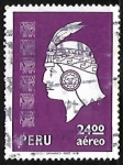 Sellos de America - Perú -  Cabeza de Inca