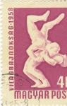 Stamps Romania -  LUCHA LIBRE