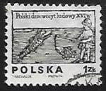 sellos de Europa - Polonia -  Pescador
