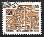 Sellos de Europa - Polonia -  Maquinaria