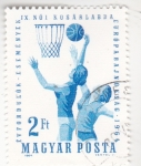 Stamps Hungary -  CAMPEONATO EUROPEO DE BALONCESTO