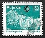 Sellos de Europa - Polonia -  Cristales de sal