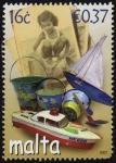 Stamps Europe - Malta -  COL-RECUERDOS DE LA PLAYA-JUGUETES