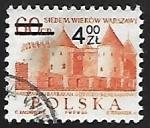 sellos de Europa - Polonia -  Barbican, Githic-Renaissance castle