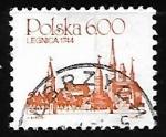 Sellos de Europa - Polonia -  Legnica, 1744