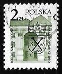 Sellos de Europa - Polonia -  Liceo Malachowski