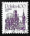 Stamps Poland -  Gdansk, 1652