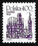 Sellos de Europa - Polonia -  Gdansk, 1652