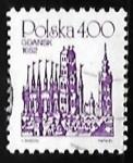 sellos de Europa - Polonia -  Sandomir Town Hall