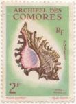 Stamps Africa - Comoros -  Scott Nº 50