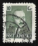 Stamps Poland -  Boleslaw Bierut (1892-1956), President