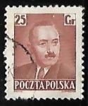 Stamps Poland -  Pres. Boleslaw Bierut