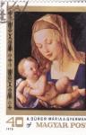 Stamps Hungary -  PINTURA-RETRATO