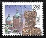 sello : Europa : Polonia : Castillo - reliquary of St. Sigismund, Plock