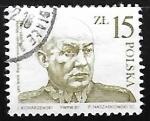 Sellos de Europa - Polonia -  Gen. Karol Swierczewski-Walter (1897-1947)