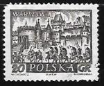 Stamps Poland -  Warsaw - Ciudad historica