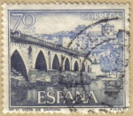 Stamps Spain -  Vista de Zamora