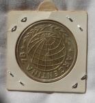 monedas del Mundo : America : Argentina :  3000 Pesos Argentina  1977  World Football Championship