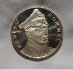 monedas del Mundo : Europa : Alemania :  ERWIN J.ROMMEL ALEMANIA WWII 1939-1945 GERMANY MEDAL AFRIKAKORPS