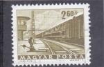 Sellos de Europa - Hungría -  ESTACION FERROCARRIL