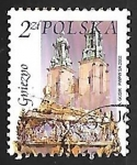 Sellos de Europa - Polonia -  Cathedral, St.Adalbert's coffin, Gniezno