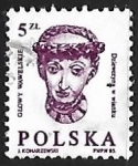 Stamps Poland -  Escultura