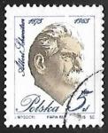 sello : Europa : Polonia : Albert Schweitzer, 1952