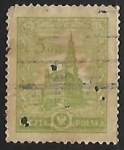 Stamps Poland -  Poznan Town Hall