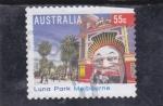 Sellos de Oceania - Australia -  LUNA PARK MELBOURNE